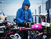 IM Lanzarote winner Kristin Moeller DE can´t wait to start race..
