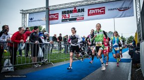 BMC IM70.3 Rapperswil starts for women pro field